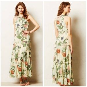 ANTHROPOLOGIE / Maeve Maravilla Maxi Dress EUC